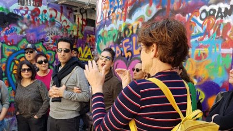 גרפיטי בסיור עירוני בתל אביב עם שילה דביר
